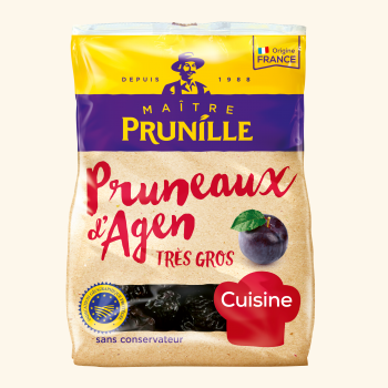 Photo de la recette <span>AGEN PRUNES WITH PITS 44/55</span>