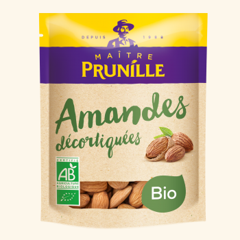 Photo de la recette <span>Shelled organic almonds</span>