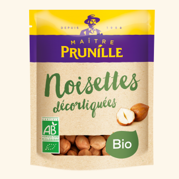 Photo de la recette <span>Shelled organic hazelnuts</span>