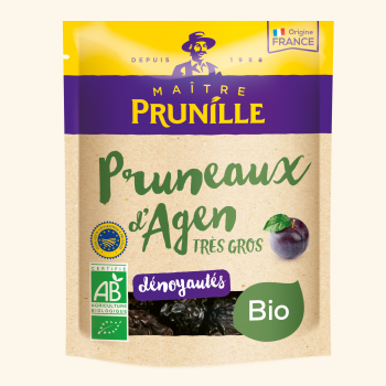 Photo de la recette <span>Organic pitted Agen prunes calibre 44/55</span>