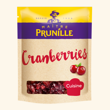 Photo de la recette <span>CRANBERRIES</span>