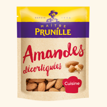 Photo de la recette <span>AMANDES DECORTIQUEES</span>