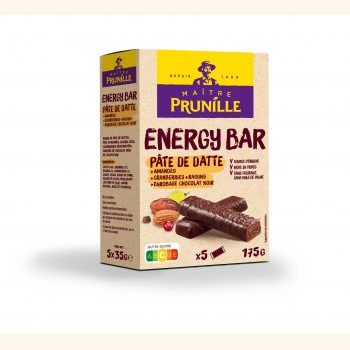 Photo de la recette <span>Energy Bar Pâte de Datte Chocolat</span>