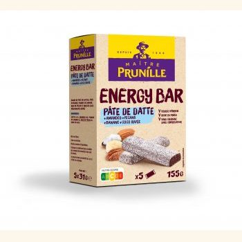 Photo de la recette <span>Energy Bar Pâte de Datte Coco</span>