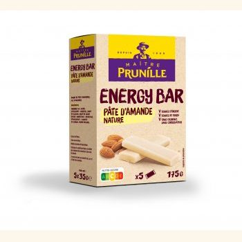 Photo de la recette <span>Energy Bar Pâte d'Amande Nature</span>