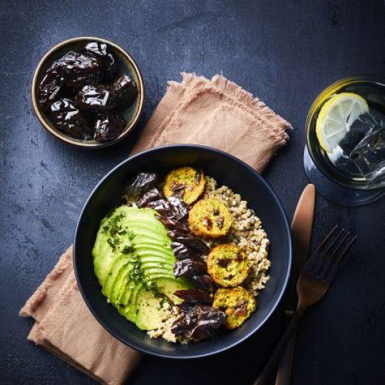 Photo de la recette <span>Vegan bowl aux pruneaux</span>