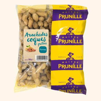Photo de la recette <span>Roast peanuts in the shell</span>