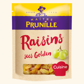 Photo de la recette <span>RAISINS SECS GOLDEN</span>