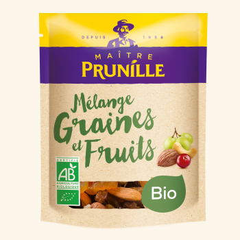Photo de la recette <span>Mix of organic fruits and nuts</span>
