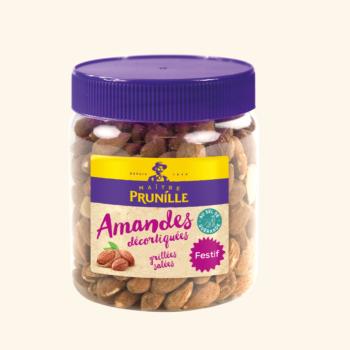 Photo de la recette <span>Roasted salted shelled almonds</span>