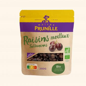 Photo de la recette <span>Organic soft dried Thompson Seedless grapes</span>