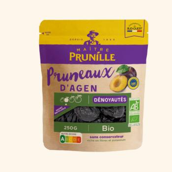 Photo de la recette <span>Organic pitted Agen prunes calibre 44/55</span>